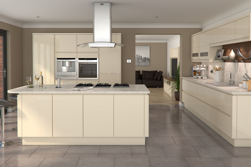 Palladium Products Ltd What We Do - Cream and gray kitchens